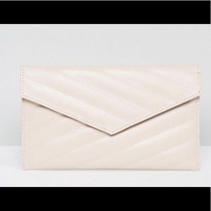 NEW!! ASOS DESIGN Quilted Envelope Clutch